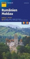 bokomslag ADAC LänderKarte Rumänien, Moldau 1:750 000