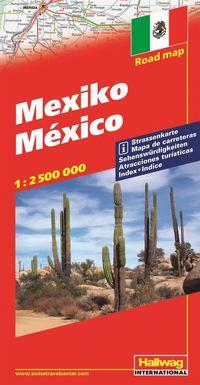 Mexico Hallwag karta : 1:2,6milj