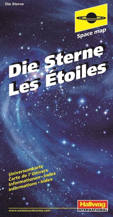 bokomslag Stjärnkarta Hallwag : The Stars
