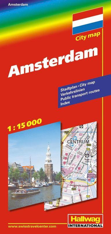 bokomslag Amsterdam Citymap