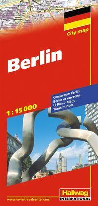 Berlin Hallwag stadskarta : 1:15000