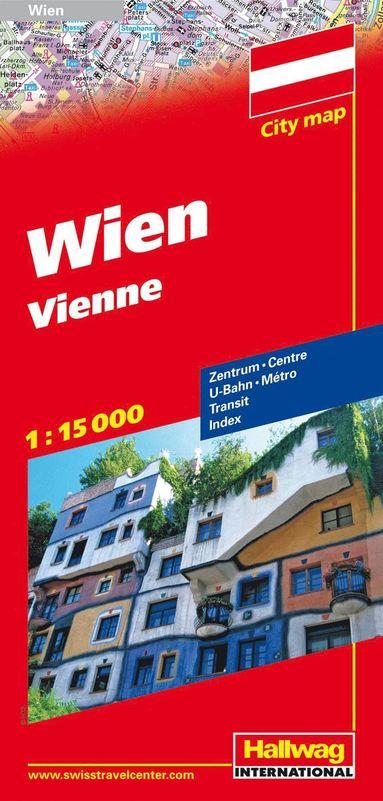 bokomslag Vienna Citymap