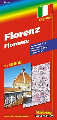 bokomslag Florens Hallwag stadskarta : 1:15000