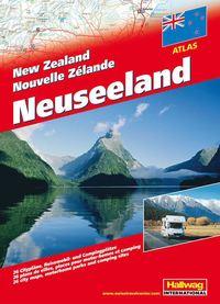 Nya Zeeland Atlas Hallwag