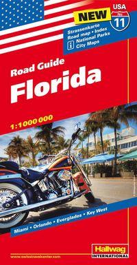 USA Florida karta nr 11 Hallwag