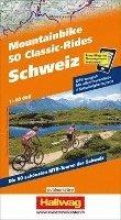 bokomslag Hallwag Outdoor Map Schweiz, 50 Mountainbike Classic-Rides