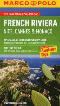 bokomslag French Riviera Marco Polo Guide