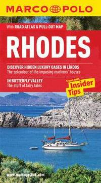 bokomslag Rhodes marco polo pocket guide