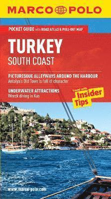 bokomslag Turkey South Coast Marco Polo Pocket Guide