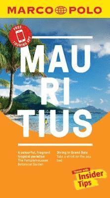 bokomslag Mauritius Marco Polo Pocket Travel Guide - with pull out map