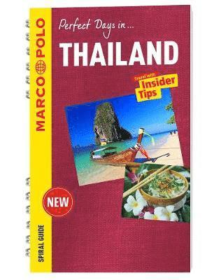 bokomslag Thailand marco polo travel guide - with pull out map