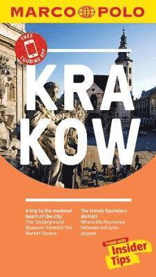 bokomslag Krakow Marco Polo Pocket Travel Guide 2019 - with pull out map