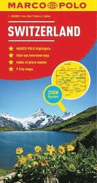 bokomslag Marco Polo Switzerland