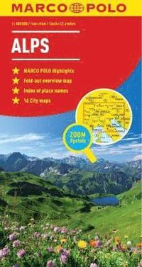 bokomslag Alps Marco Polo Map