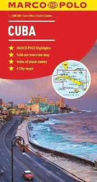 Cuba Marco Polo Map
