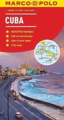 bokomslag Cuba Marco Polo Map