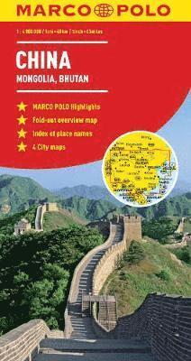 bokomslag China Map