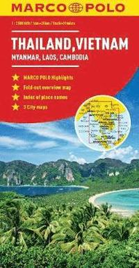 bokomslag Thailand, Vietnam, Laos, Cambodia