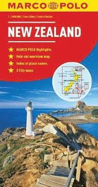 bokomslag New Zealand Marco Polo Map