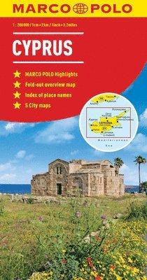 bokomslag Cyprus Marco Polo Map