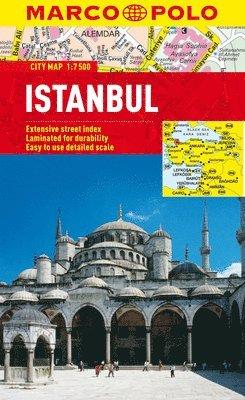 bokomslag Istanbul Marco Polo City Map