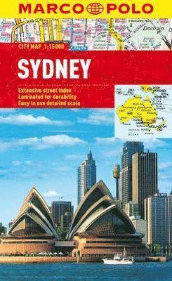 bokomslag Marco Polo Sydney City Map