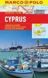 bokomslag Cyprus Marco Polo Holiday Map