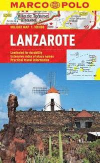 Lanzarote Holiday Map