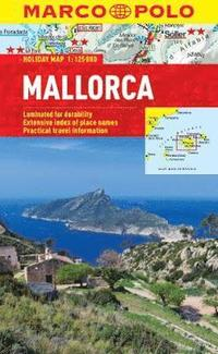 bokomslag Mallorca Marco Polo Holiday Map