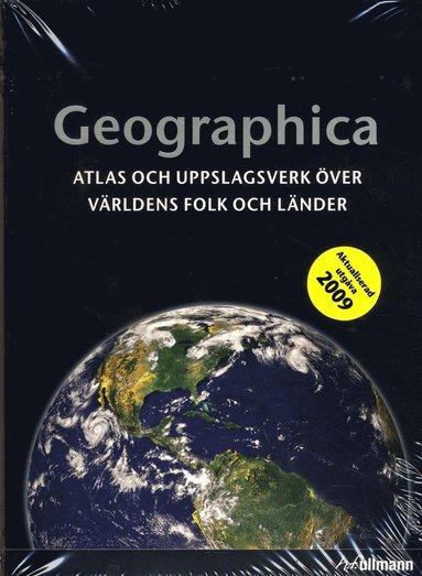 bokomslag Geographica : atlas och uppslagsverk över världens folk och länder
