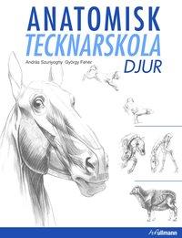 bokomslag Anatomisk tecknarskola : djur
