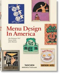 bokomslag Menu Design in America