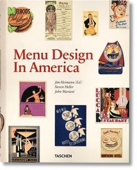 bokomslag Menu Design in America, 1850-1985