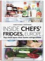 bokomslag Inside Chefs' Fridges. Europe