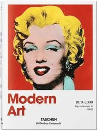 bokomslag Modern Art. A History from Impressionism to Today