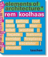 bokomslag Koolhaas. Elements of Architecture