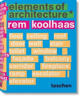 bokomslag Rem Koolhaas: Elements of Architecture