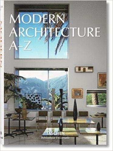 bokomslag Modern Architecture A-Z