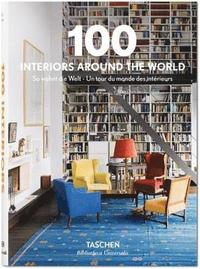 bokomslag 100 interiors around the world