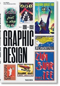 bokomslag The History of Graphic Design: 1890-1959: 1
