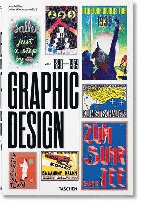 bokomslag The History of Graphic Design: 1890-1959: 1