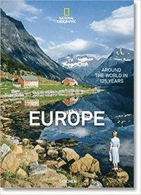 bokomslag National Geographic. Around the World in 125 Years. Europe