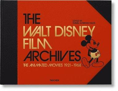 bokomslag The Walt Disney Film Archives. The Animated Movies 1921-1968