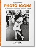 bokomslag Photo Icons. 50 Schlüsselbilder und ihre Hintergründe