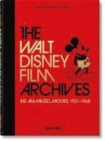 bokomslag Das Walt Disney Filmarchiv. Die Animationsfilme 1921-1968. 40th Ed.