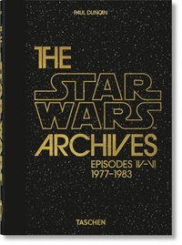 bokomslag The Star Wars Archives. 1977-1983 - 40th Anniversary Edition