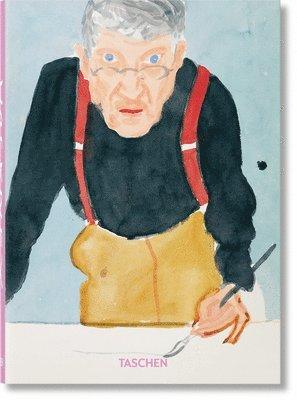 bokomslag David Hockney. A Chronology - 40th Anniversary Edition