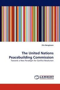 bokomslag United Nations Peacebuilding Commission