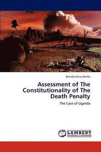 bokomslag Assessment of The Constitutionality of The Death Penalty
