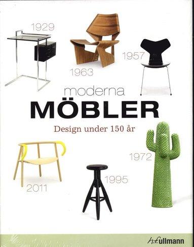 bokomslag Moderna möbler : design under 150 år